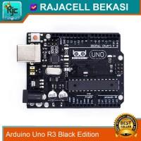 Arduino Uno R3B Black Edition Atmega328P DIP mega16u2 Original Design