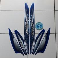 striping stiker motor mio sporty 2011 biru