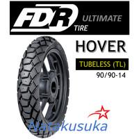 Ban Luar FDR Hover Tubeless (TL) 90/90-14