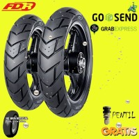 Paket Ban motor FDR MAXTREME 110/70 & 130/70 Ring 17 Tubeless