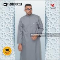 BEST PRICE! Baju Gamis Pria Resleting Lengan Panjang / Jubah - Toyobo