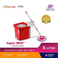 Bolde Super Mop DOUBLE SIDE Red White