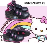 Sepatu anak perempuan HELLO KITTY DUKKEN DIVA BOOT