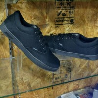 Terbaru Sepatu Vans Era Authentic Hitam Polos | Sepatu Sekolah |