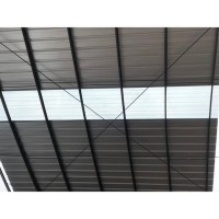 Atap Spandek Transparant 0.80mm x 4 Meter - Spandeck Fiber