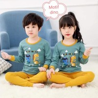 Setelan panjang anak - baju tidur anak -baju kekinian 1-9tahun M-VIN