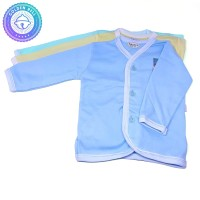Baju Lengan Panjang Bayi Warna Hachi 3 Pcs