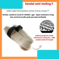 Sendal Sandal Bakiak Sandal Kayu Sandal Tradisional Sandal Wudhu