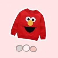 Red Elmo Sweater / Atasan Bayi