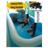 KOLAM RENANG ANAK 262x175 x51cm Bestway BONUS POMPA - kolam saja