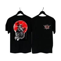 MS. - BF022 Kaos Distro Pria T-Shirt Pria Kaos Pria Samurai Tokyo