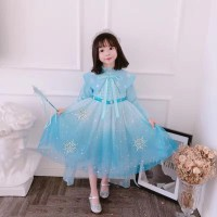 Jual Baju Princess Elsa Frozen 2 Anak Perempuan Dress Frozen