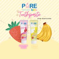 Pure Kids Toothpaste Odol Anak 50 gram ORIGiNAL aman pasta gigi bayi