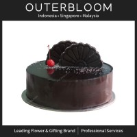 Kue Ultah - Blackout Chocolate Cake