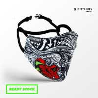 Stayhoops - Masker Fullprint 2 Layer - Non Medis - Puppeth