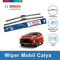 "Bosch Sepasang Wiper Mobil Toyota Calya Frameless Clear 22"" & 17"""