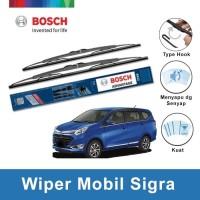 "Bosch Sepasang Wiper Kaca Mobil Daihatsu Sigra Advantage 22"" & 17"""