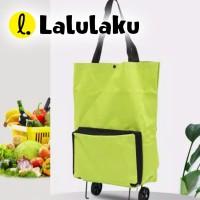 Shopping Bag LIPAT 802 Trolley Tas Belanja Roda Troli