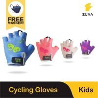 Zuna Gloves Cycling Kids Butterfly