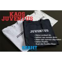 Kaos Pria Juventus - Putih, S