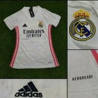 Jersey Baju Bola Madrid Home Cewek Ladies Wanita Perempuan 2020 2021