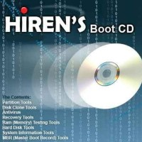 Hiren's Boot CD v.15.2 With Add Norton Ghost Hiren