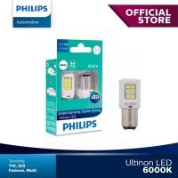Philips Ultinon LED P21/5W S25 Lampu Malam Rem Stop Mobil Warna Putih