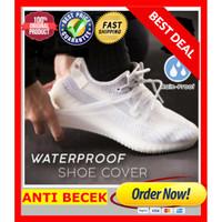 Jas hujan Silicone Cover Sepatu Shoe Cover Sepatu Anti Basah Pelindung