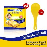Blue Band Serbaguna Margarine Sachet 200gr isi 4 Free Centong Nasi