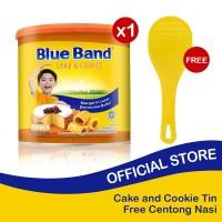 Blue Band Cake and Cookie Margarine Tin 2kg Free Centong Nasi