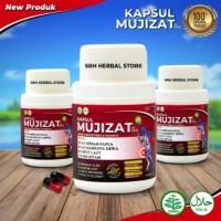 Jamu Herbal Untuk asam urat, Sakit Pinggang MUJIZAT 14 Kapsul