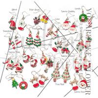 Anting Stud Natal Santa Claus Rudolph Christmas Lucu Unik GH 203672