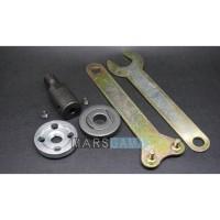 Spindle Adapter Grinding Arbor Mandrel M10 - 5mm untuk DC Motor 775