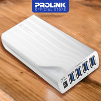 Prolink Probrick PUH501NB 4-in-1 Powered USB3.0 Hub/Quick and Notebook