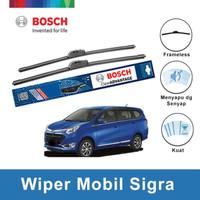 """Bosch Sepasang Wiper Mobil Daihatsu Sigra Frameless Clear 22"""" & 17"""""""