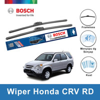 "Bosch Sepasang Wiper Mobil Honda CRV RD Frameless Advantage 21"" & 20"""