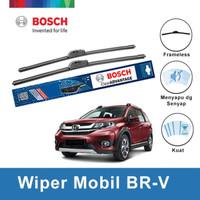 "Bosch Sepasang Wiper Honda BRV Frameless Advantage 22"" & 16"""