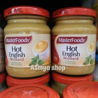 Masterfoods Hot English Mustard Traditionally Hot & spicy 175gr