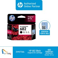 HP Tinta 682 Black Original Ink Advantage Cartridge