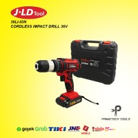 JLD BOR BATERAI CORDLESS IMPACT DRILL 36 V 29 PCS