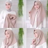 New Jilbab Segitiga Instan Segi Tiga 3 Instan Hijab Khimar Kerudung