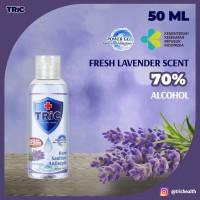 TRiC Lavender Antiseptic Hand Sanitizer | Power Gel | 50 +20% ML Botol