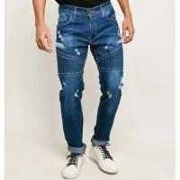 Celana Jeans Pria / Celana Jeans Sobek Pria