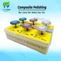 Dental poles polishing finishing Composite