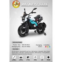 RECHARGEABLE / Mainan MOTOR Aki Anak PACIFIC PT-6606