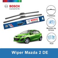 """Bosch Sepasang Wiper Frameless Advantage Mazda 2 DE 24"""" & 14"""""""