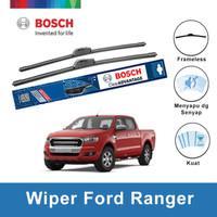 """Bosch Sepasang Wiper Ford Ranger 2011-on Frameless Advantage 24"""" & 16"""""""