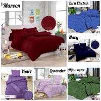 Bed Cover Set / Seprai + Bed Cover Jacquard Emboos Single Size & King