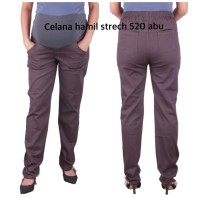 Celana hamil panjang Cantik OH 520 baju hamil - abu tua, allsize