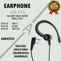 Earphone ETA 012 For Handy Talkie Baofeng Model K-PLUG UV5r UV82 UVb2